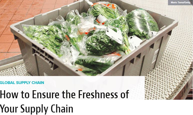 How to Ensure the Freshness of Your Supply Chain
