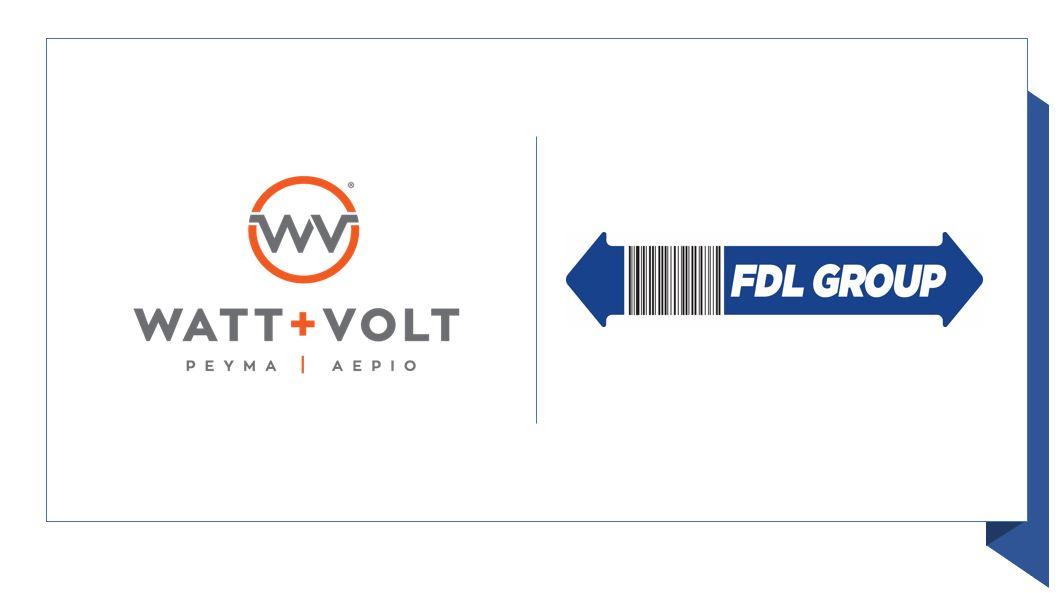 Νέα συνεργασία  FDL GROUP με WATT + VOLT