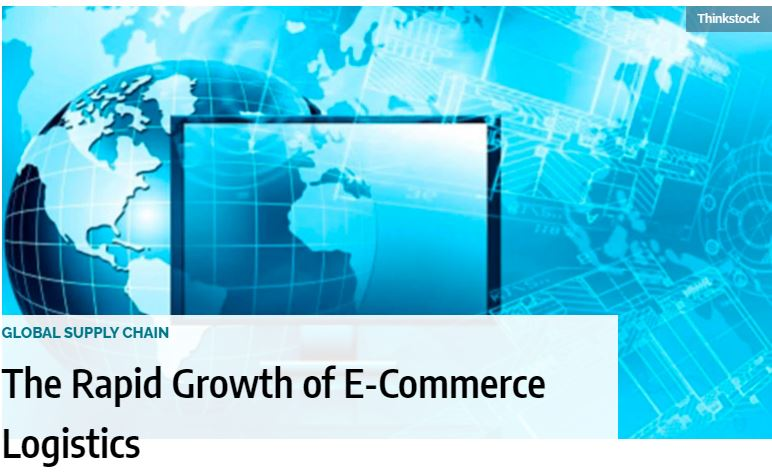 The Rapid Growth of E-Commerce Logistics Retail e‐commerce sales in the second quarter of 2020 hit $211.5 billion.